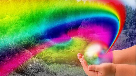 Эмоции и цвета радуги