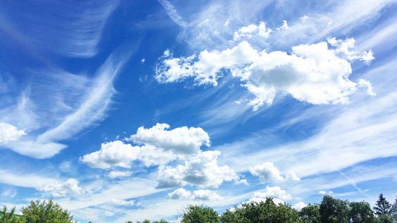 бесконечность неба
