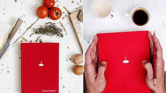 Кулинарную семейную книгу