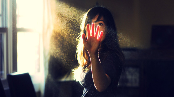 Тело человека – это застывший Свет