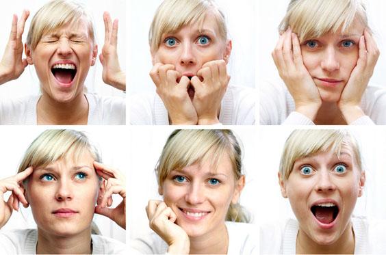 Проявление базовых эмоций в теле и психике