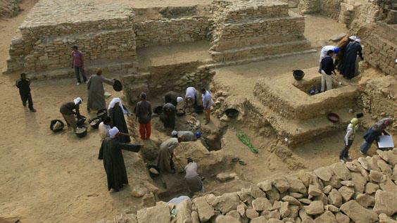 Ученые нашли в Египте пирамиды